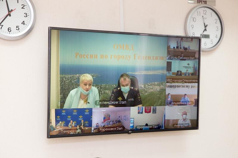 На расширенном заседании Общественного совета ГУ МВД по Краснодарскому краю отметили работу кубанской общественной организации «ЮИД»