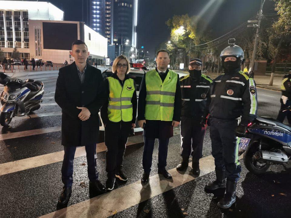 Тишина на дорогах: в Краснодаре продолжаются рейдовые мероприятия